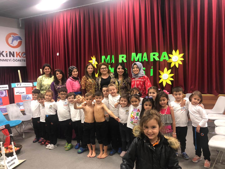 Etkin Kolej | Türkiye'mizin Bölgelerini Öğreniyorum Etkinliği / Marmara Bölgesi