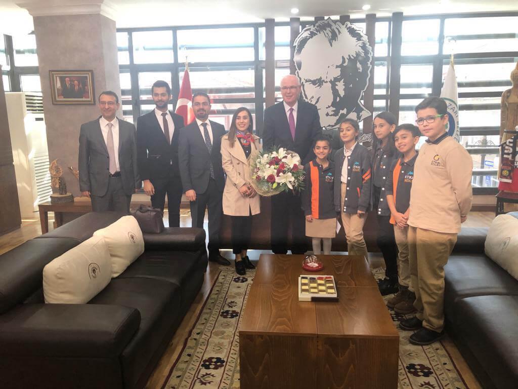 Etkin Kolej | Odunpazarı Belediye Başkanı'nı Ziyaret