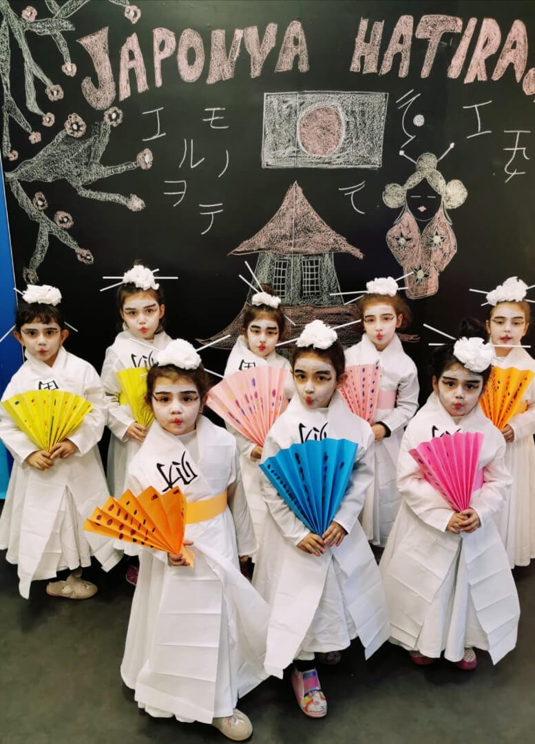 Etkin Kolej | ÜLKELERİ ÖĞRENİYORUM ETKİNLİĞİ / JAPONYA