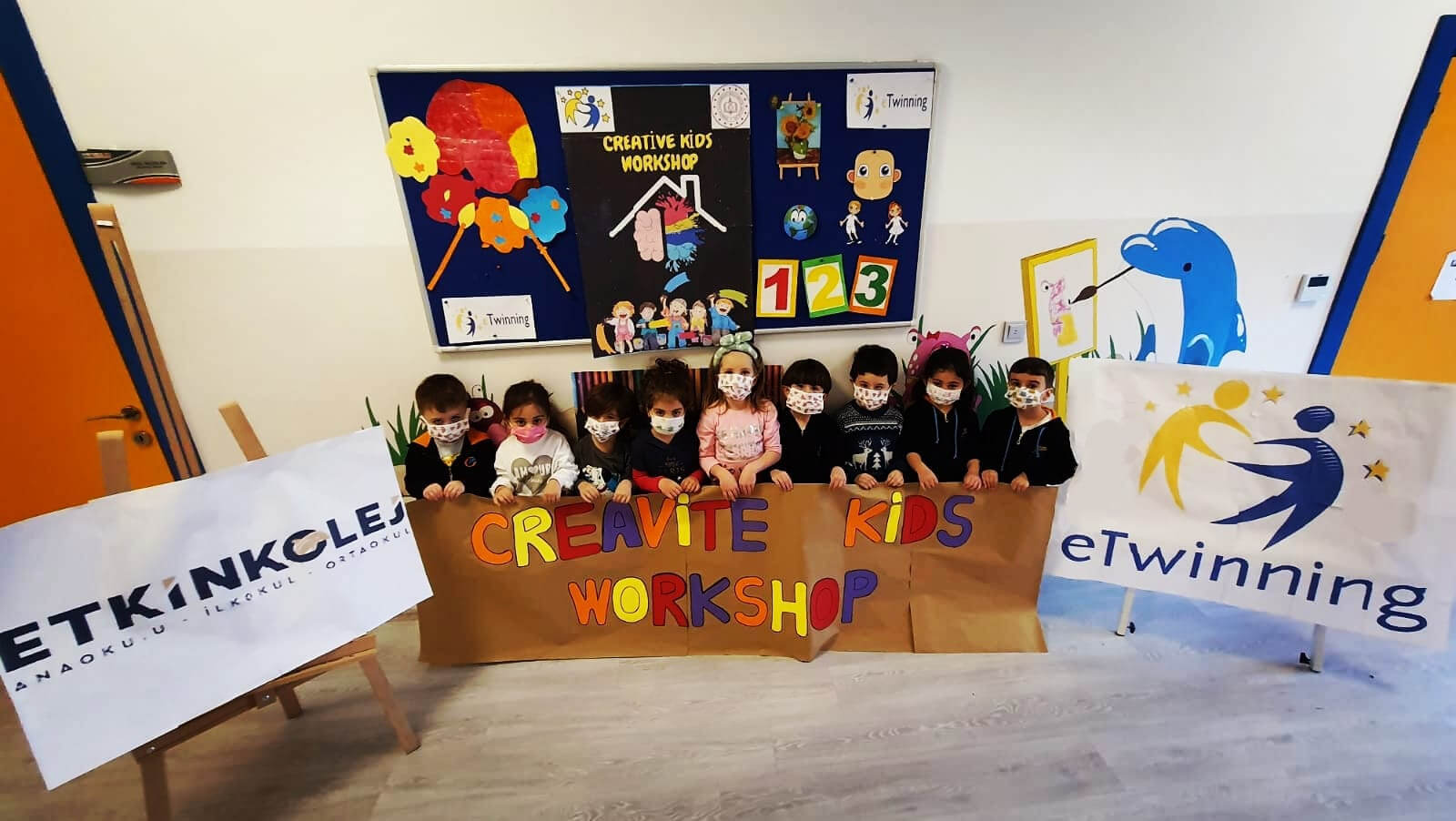 Etkin Kolej | Creative Kids Workshop Projesi