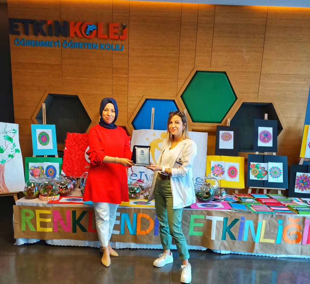 Etkin Kolej | E-Twinning Renklendir Etkinliği (Color Your Activity) Proje Sonu Sergisi