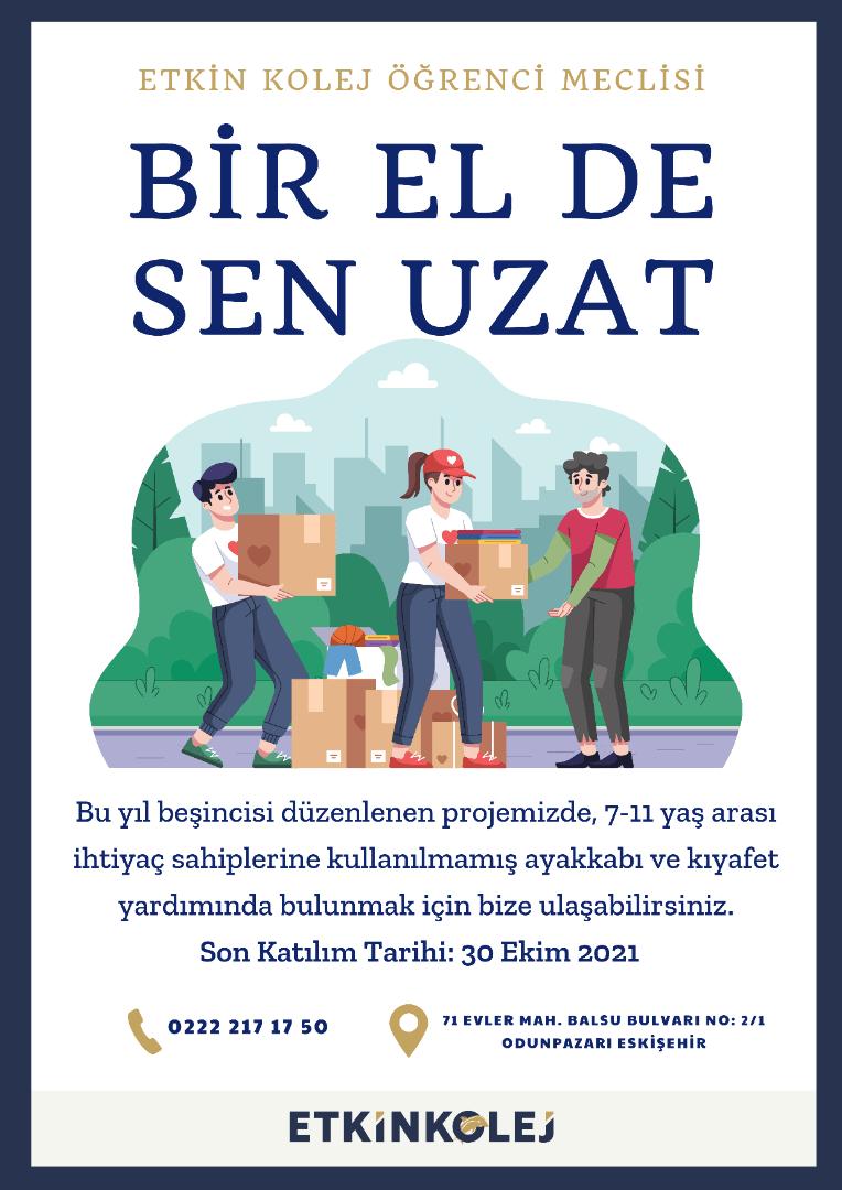 Etkin Kolej | BİR EL DE SEN UZAT