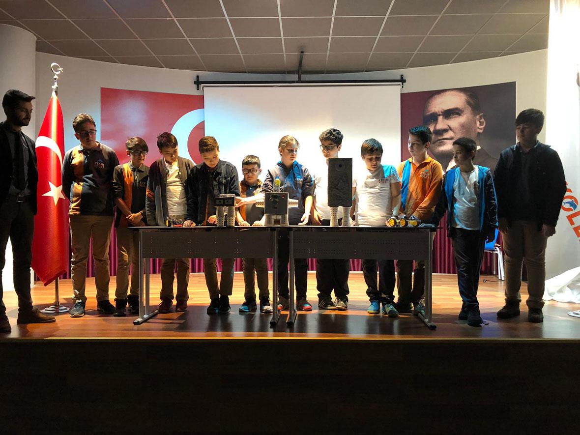 Etkin Kolej | 1.Periyot Kulüp Tanıtımları Ortaokul