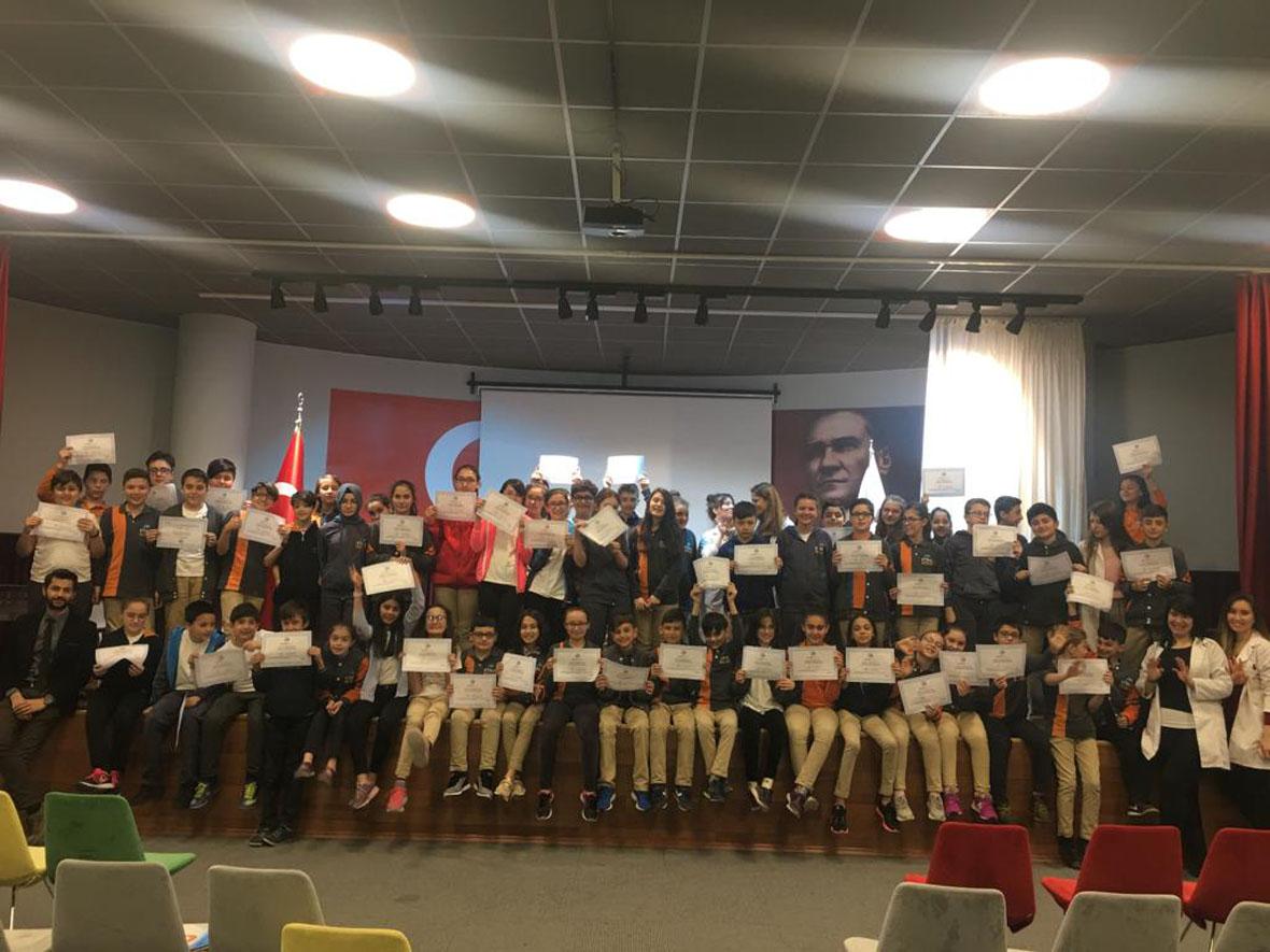 Etkin Kolej   1.Periyot Kulüp Tanıtımları Ortaokul