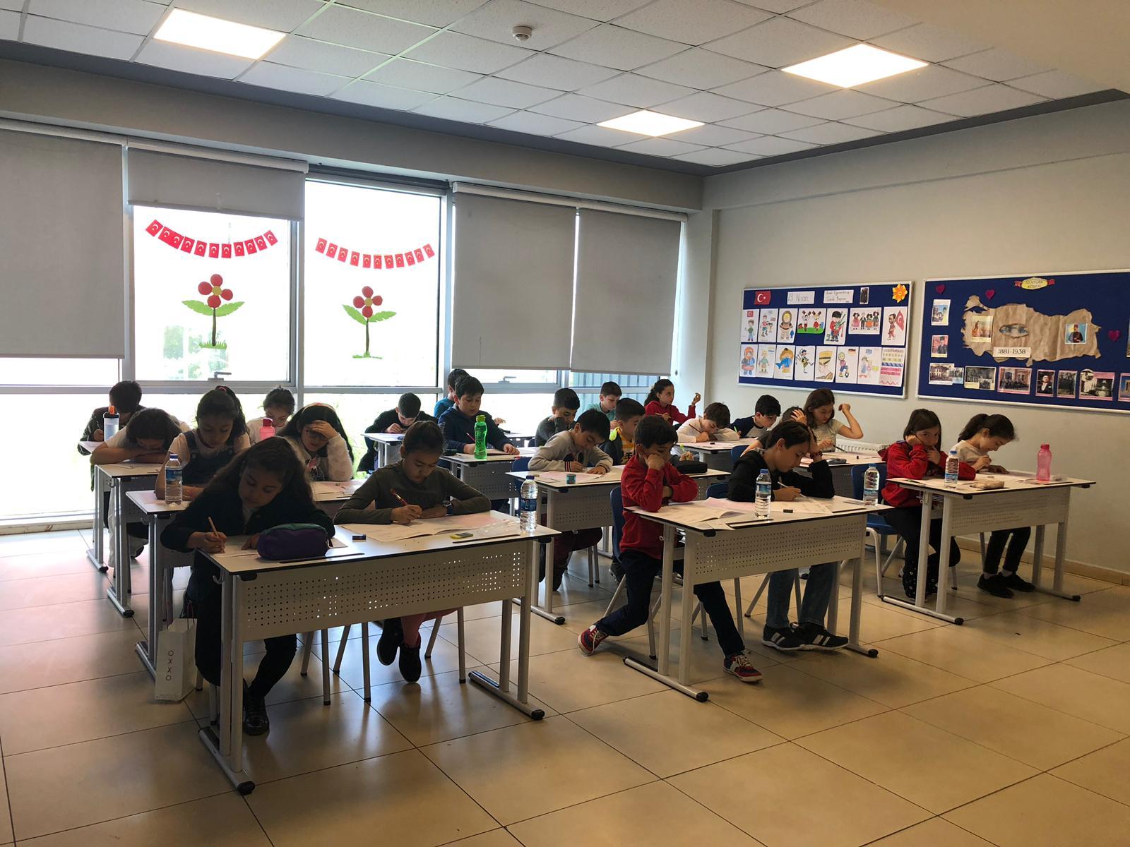 Etkin Kolej   Matematik Olimpiyat Sınavı
