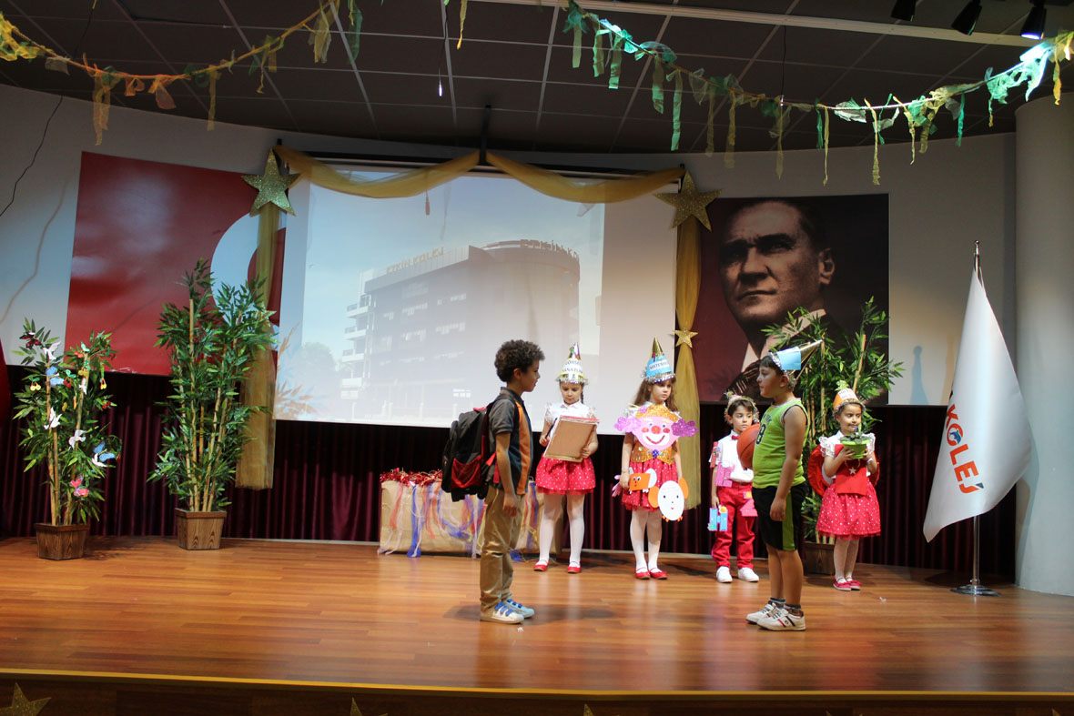 Etkin Kolej | Okuma Bayramı