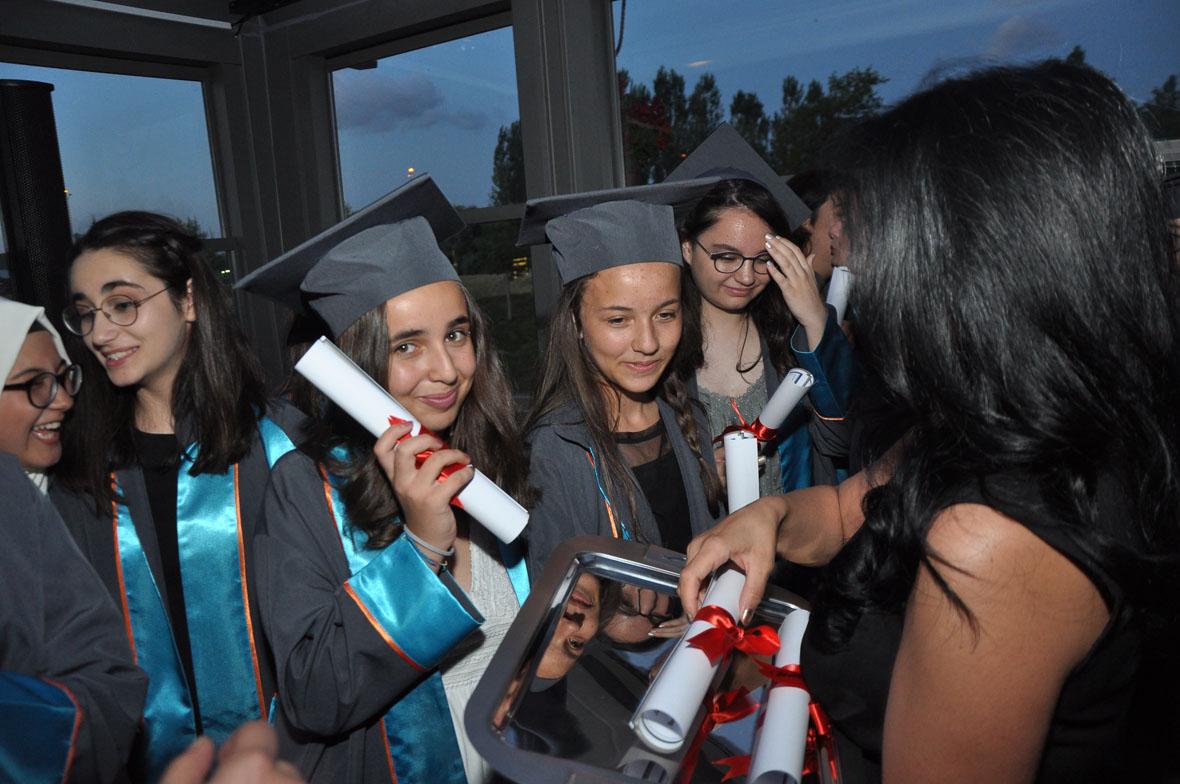 Etkin Kolej | ETKİN KOLEJDE MEZUNİYET HEYECANI
