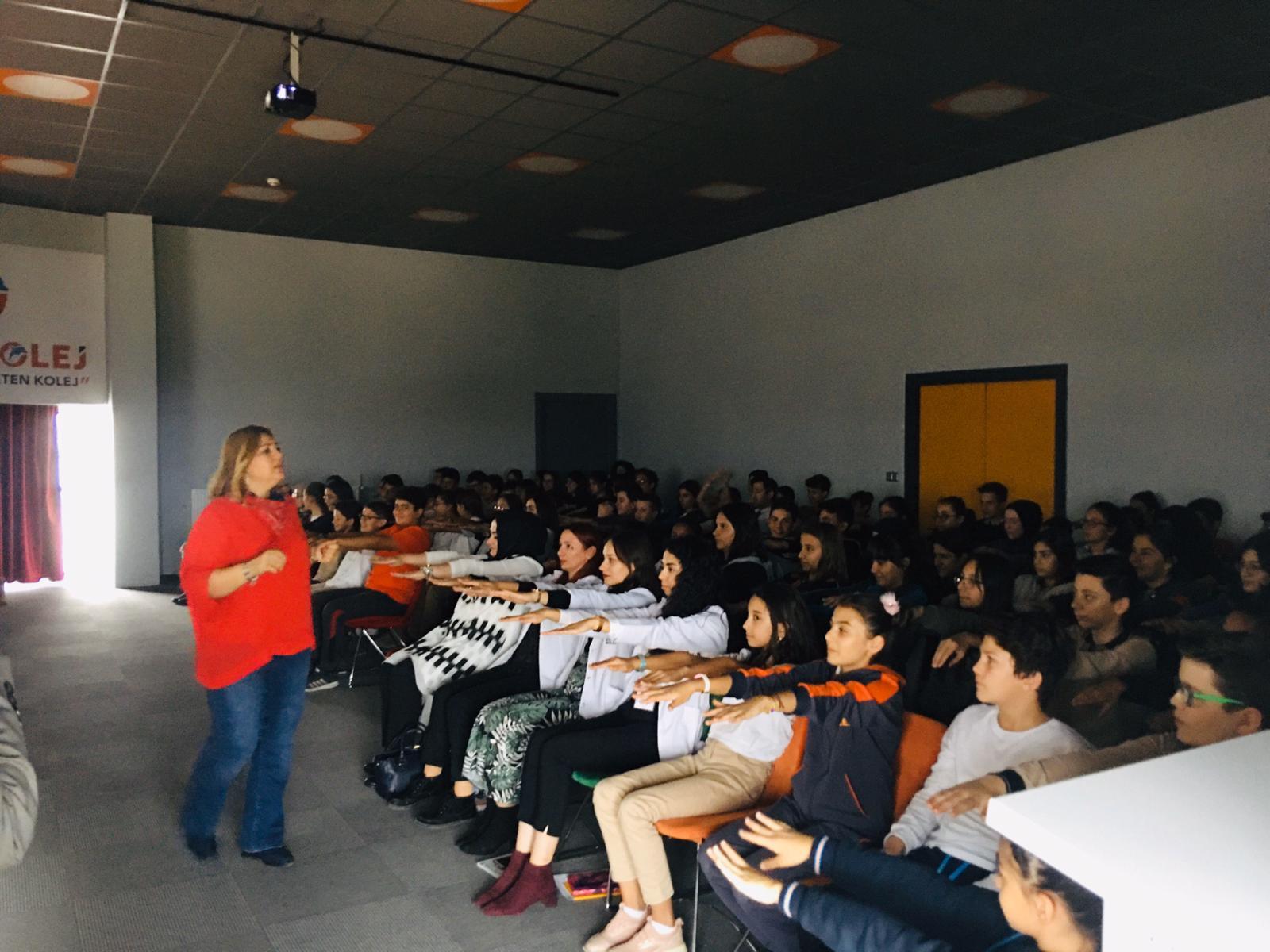 Etkin Kolej   Kariyer Günü Etkinliği