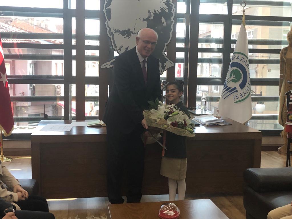 Etkin Kolej   Odunpazarı Belediye Başkanı'nı Ziyaret