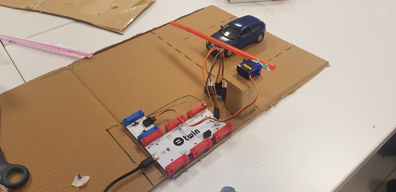 Etkin Kolej | Akıllı Otopark Sistemi Projesi