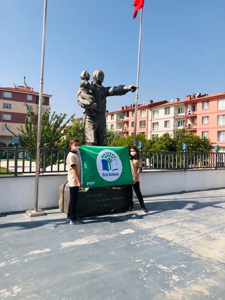 """Etkin Kolej   EKO OKULLAR """"YEŞİL BAYRAK"""" ÖDÜLÜ"""
