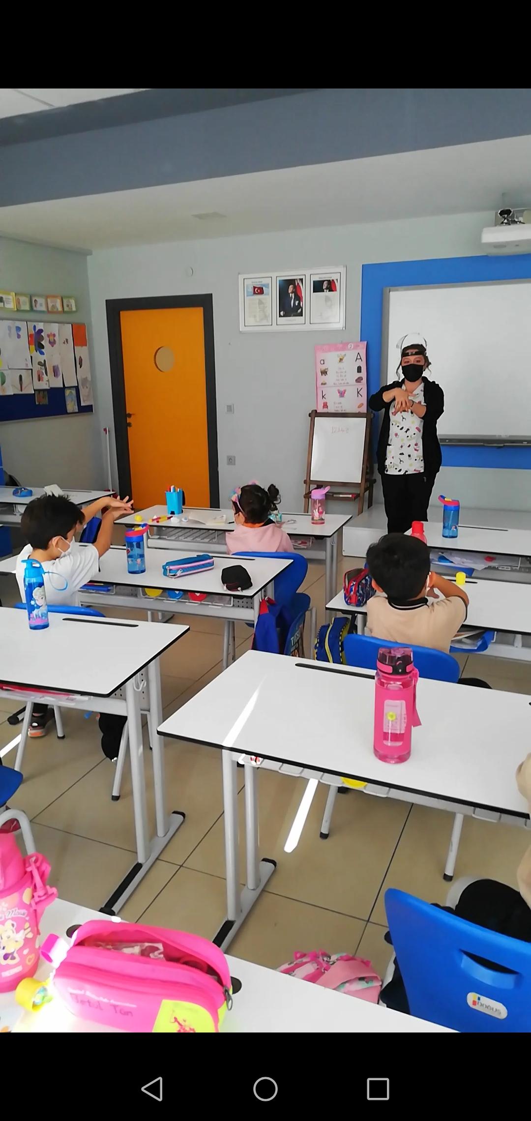 Etkin Kolej   PANDEMİ KURALLARINI ÖĞRENİYORUM!