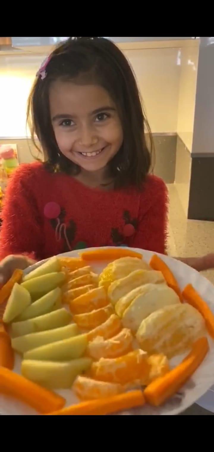 Etkin Kolej | 3A Sınıfı Yemeği Seviyoruz Etkinliği