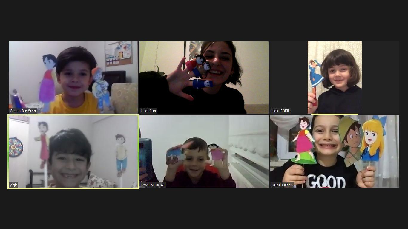 Etkin Kolej | PUPPETS IN THE WONDERLAND-KUKLALAR HARİKALAR DİYARINDA