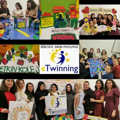 Etkin Kolej | E-TWİNNİNG BİRLİKTE DAHA MUTLUYUZ (TOGETHER HAPPIER!)PROJESİ