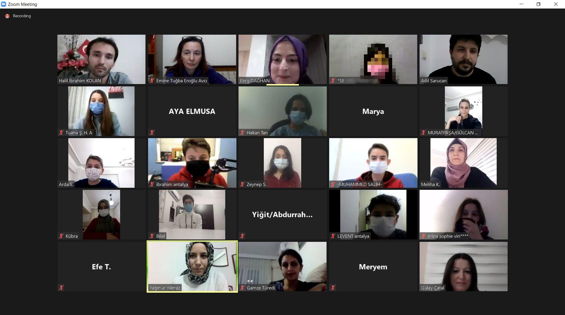 Etkin Kolej | Bilimin Sancaktarları Öğrenci Toplantısı
