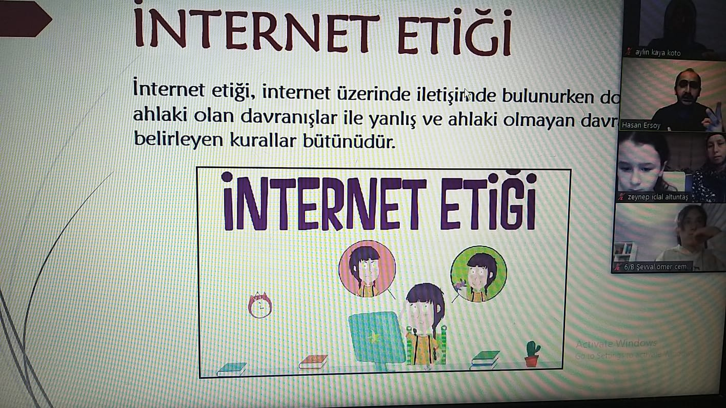 Etkin Kolej   Güvenli İnternet Günü