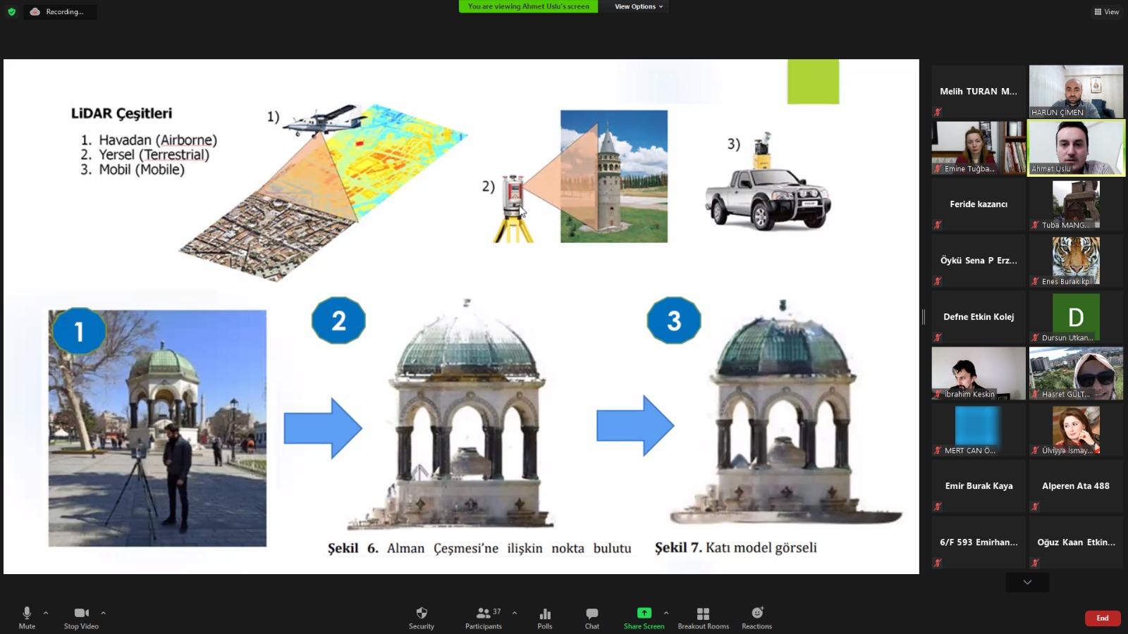Etkin Kolej | Kültürel Mirasın 3D Modellemesi Üzerine Söyleşi