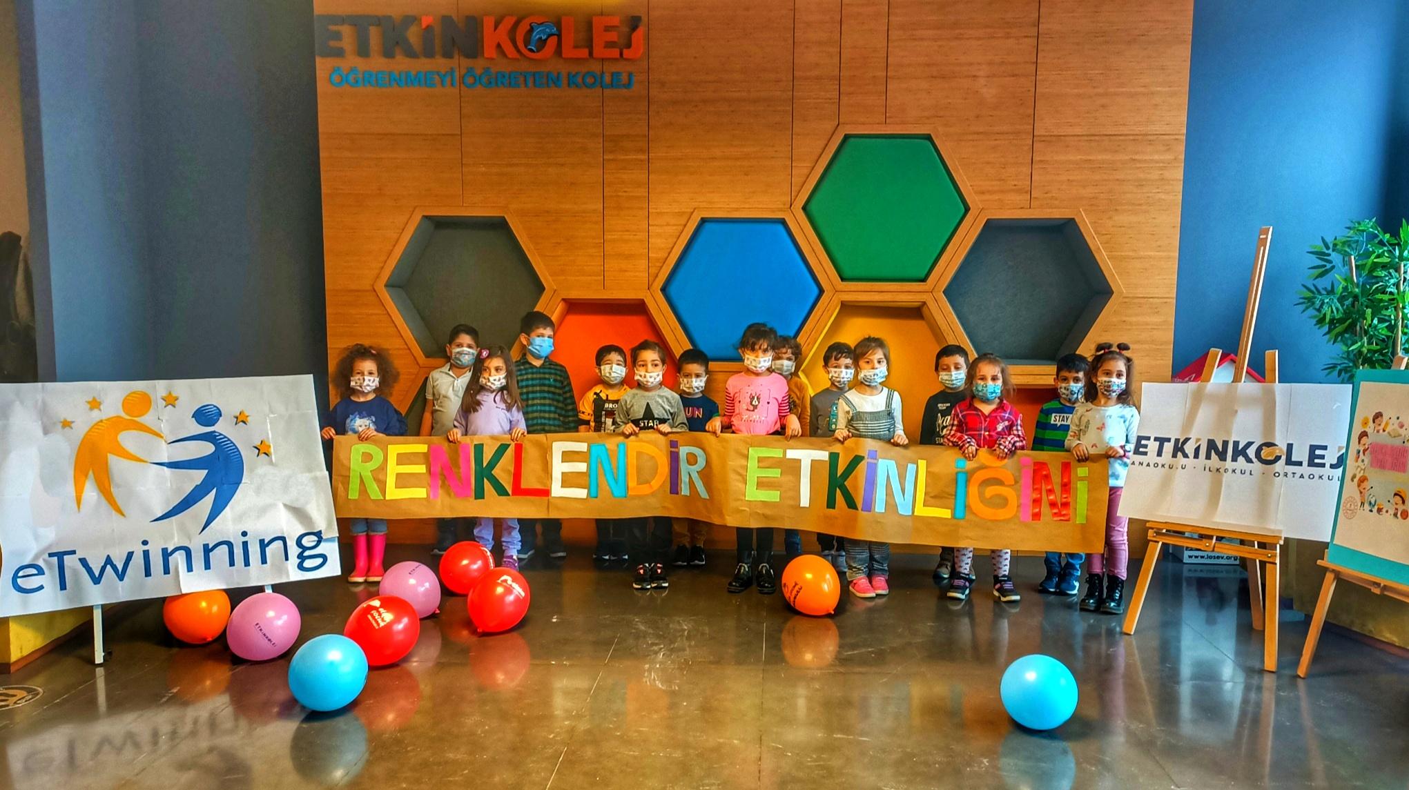 Etkin Kolej   Renklendir Etkinliğini Projesi