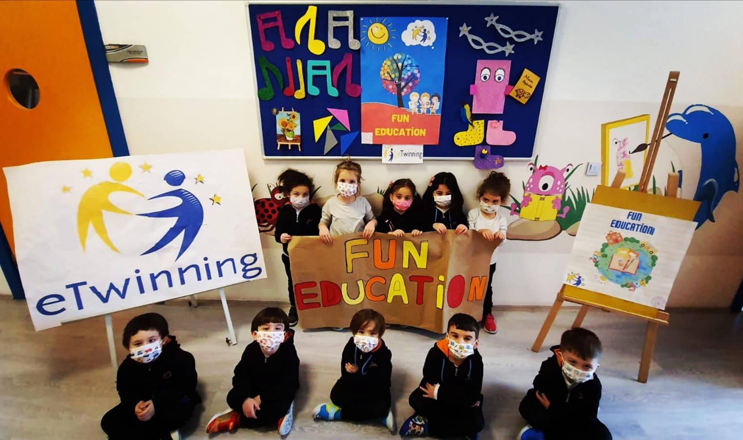 Etkin Kolej | Fun Education Projesi