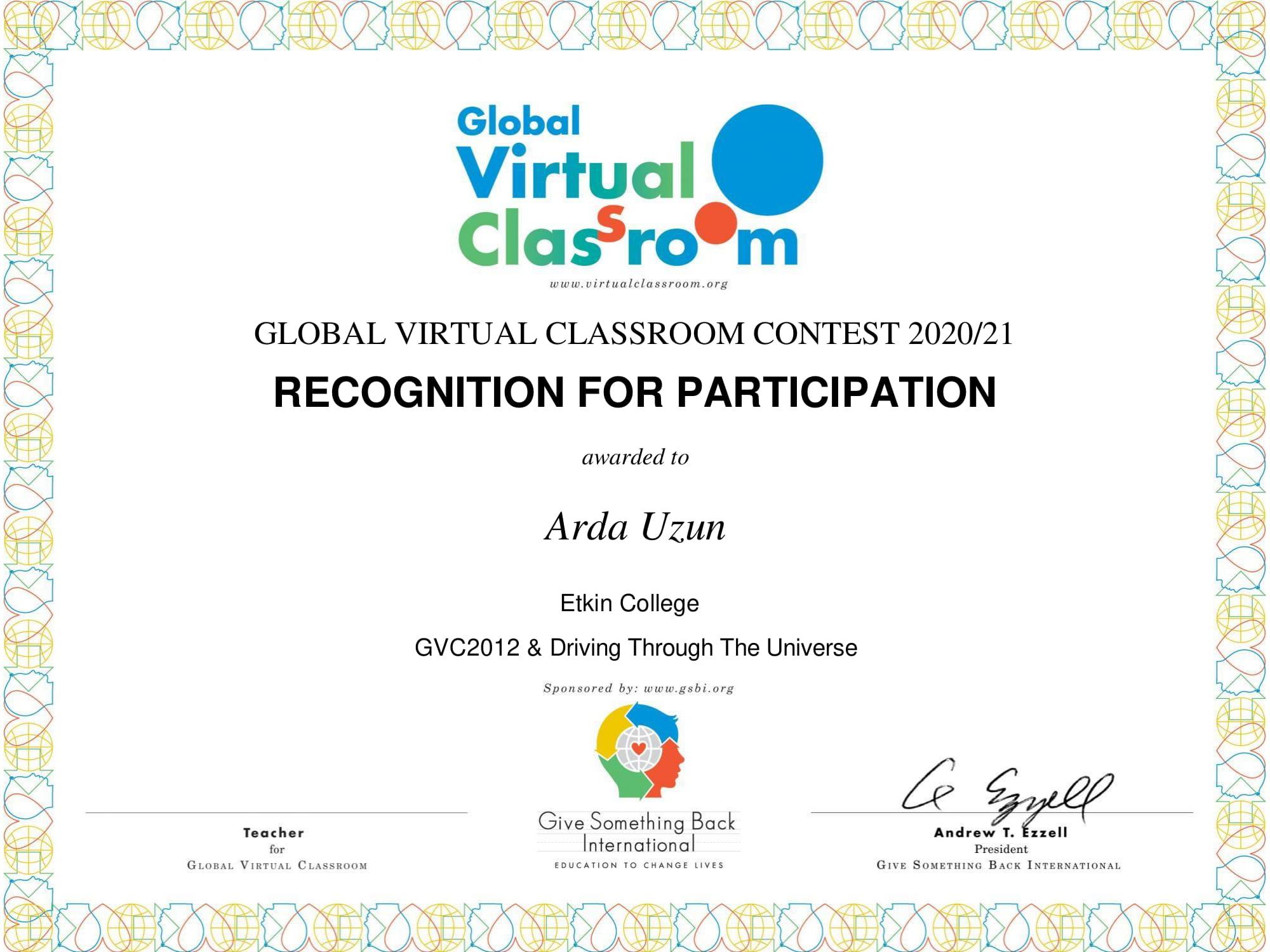 Etkin Kolej | Ortaokul Öğrencilerimizden Uluslararası Birincilik