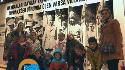 Etkin Kolej | Kurtuluş Müzesi'ni ziyareti